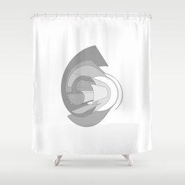 Nueva Std Light Italic Shower Curtain