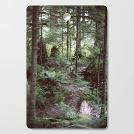 Vancouver Island Rainforest Cutting Board