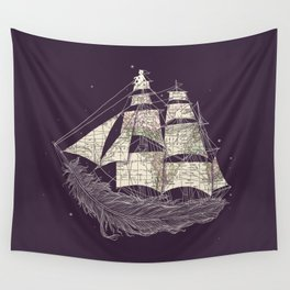 Wherever the wind blows Wall Tapestry