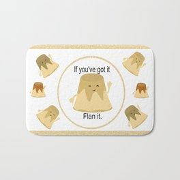 Flan it Bath Mat