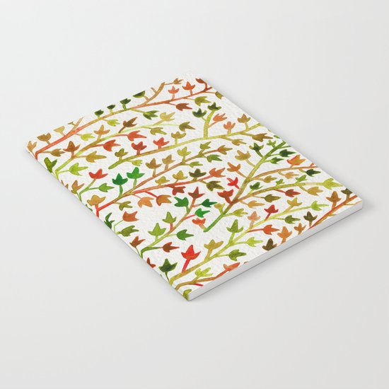 Autumn Ivy Notebook