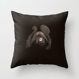 Rose Tin Throw Pillow