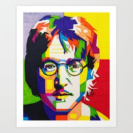 John Lennon Art Prints For Any Decor Style Society6