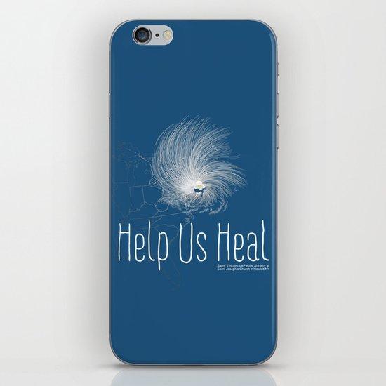 Help Us Heal - Hurricane Sandy Relief iPhone & iPod Skin