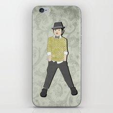 boys formal wear lime plaid iPhone & iPod Skin