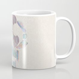 Aurora Quartz Skull Coffee Mug
