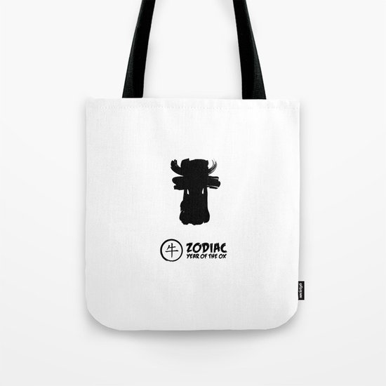 Chinese Zodiac - Year of the Ox Tote Bag