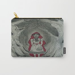 Feral Red Carry-All Pouch