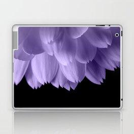 Ultra violet purple flower petals black Laptop & iPad Skin