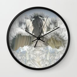 Explosive Clouds Wall Clock