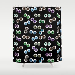 Bloodshot Eyes Shower Curtain