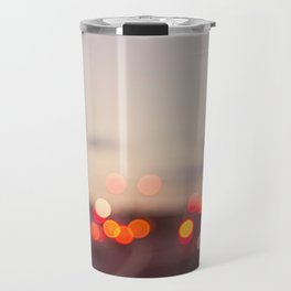 highway at dusk Travel Mug