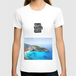 Good vibes only island vers T-shirt