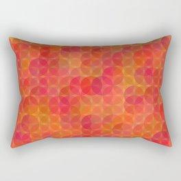 Stained Glass Sunrise Rectangular Pillow