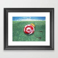 New Year Ball Framed Art Print