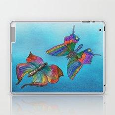 Butterflies and Blue Skies Laptop & iPad Skin
