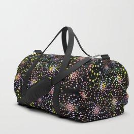 Abstract Mixed Media Series Sea Urchins 07 Duffle Bag