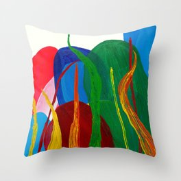 Fire And Growth Throw Pillow