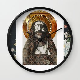 North African Woman Wall Clock