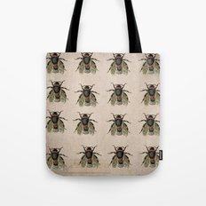Vintage Bees Tote Bag