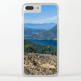 Island Life Clear iPhone Case