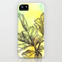 Plant Series: Green iPhone Case