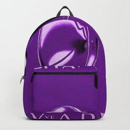 Vintage Champagne Purple Veuve A. Devaux, Paris, Jazz Age Roaring Twenties Advertisement Poster Backpack