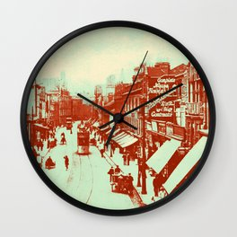 Granby Street Leicester Wall Clock