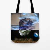 physics Tote Bags featuring Multiverse by Deepti Munshaw