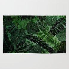 Green Foliage Rug