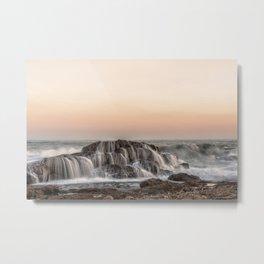 Crashed Wave Metal Print