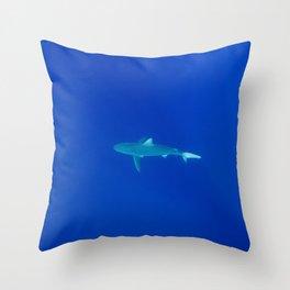 Hawaiian Shark Throw Pillow