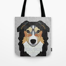 Zeke - mountain dog Tote Bag