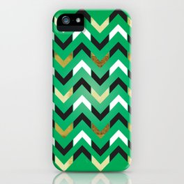 """Lucky Number """"Chevron"""" iPhone Case"""