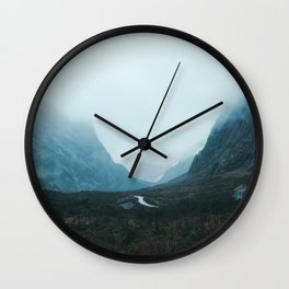 Milford Sound, NZ Wall Clock