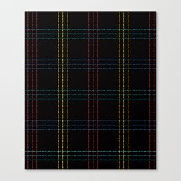 PNW Plaid Vashon Canvas Print