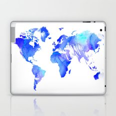 Watercolour World Laptop & iPad Skin