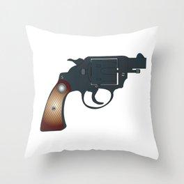 Snub Nose 45 Throw Pillow