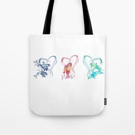 Trio d'Amour de Mer Tote Bag