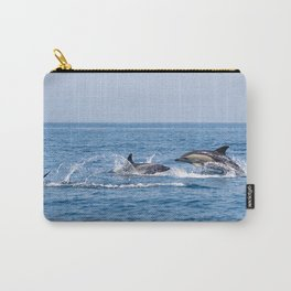 Couple of dolphins Carry-All Pouch