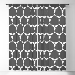 Blackcurrant Patern Blackout Curtain