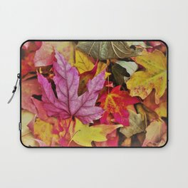 Autumn colorful leaves mountain Laptop Sleeve