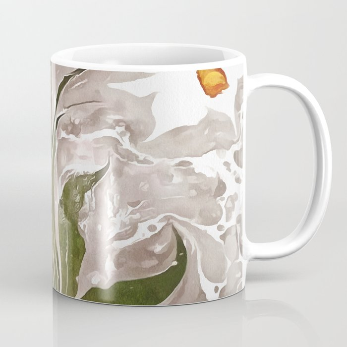 Narcissus On Marble Coffee Mug