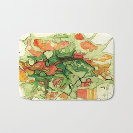 Mate' Cartography Bath Mat