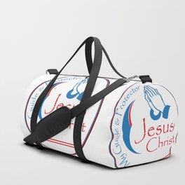 Christ Hand Duffle Bag