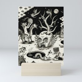 The Ways of the Wicked Mini Art Print