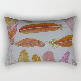 Warm Feathers Rectangular Pillow