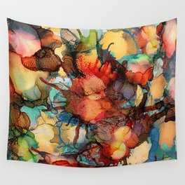 Color Splash 2 Wall Tapestry
