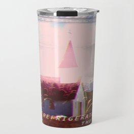 Imaginary Bands: Refrigerator Rabbit Travel Mug