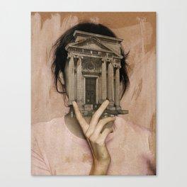 Die Historikerin Canvas Print